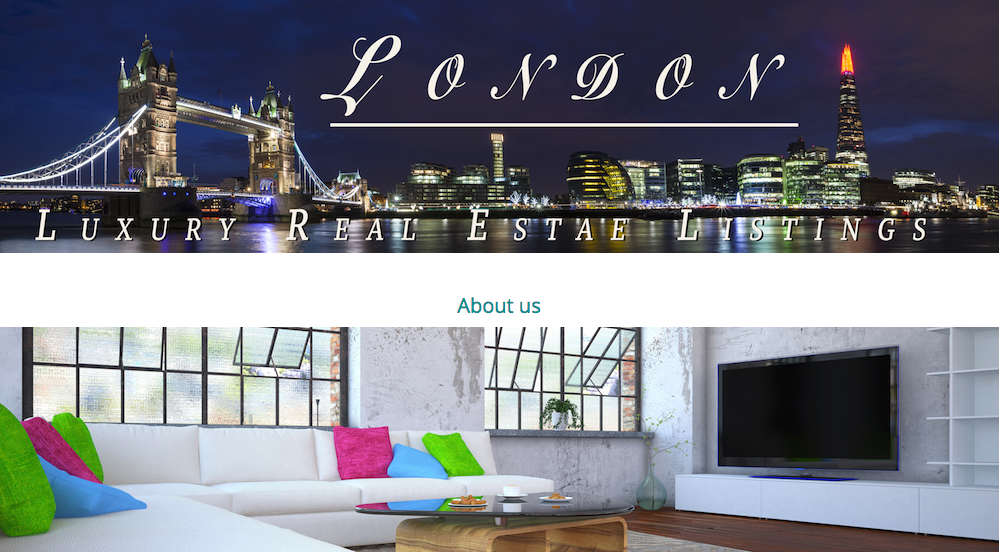 London Luxury Real Estate Listings