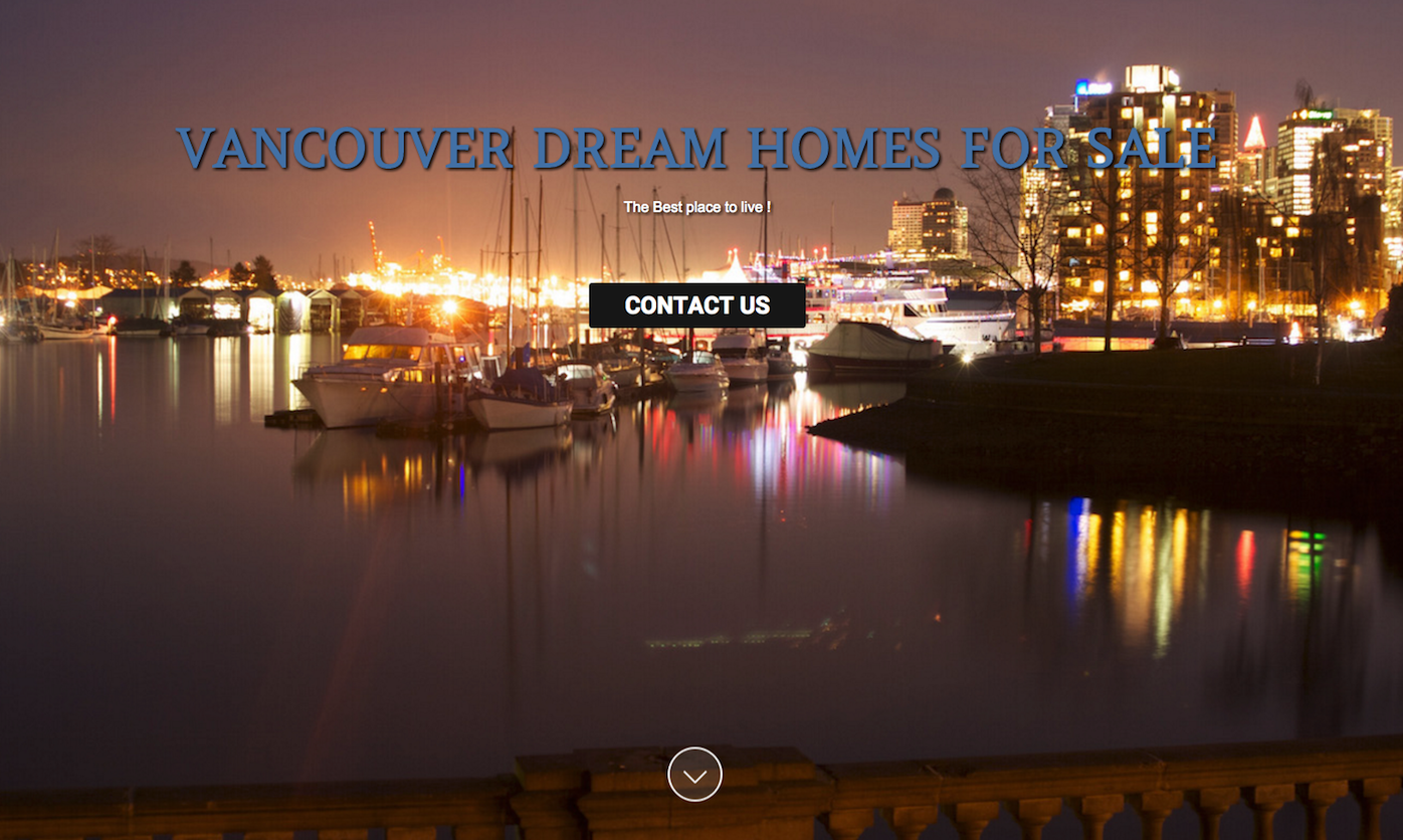 Vancouver Dream Homes for sale