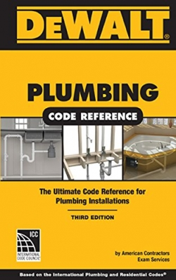 DEWALT PLUMBING CODE REFERENCE 3RD EDITION