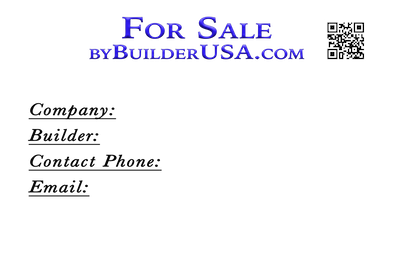For Sale by Builder U.S.A..com a Division of Istockhomes Marketing Ltd.