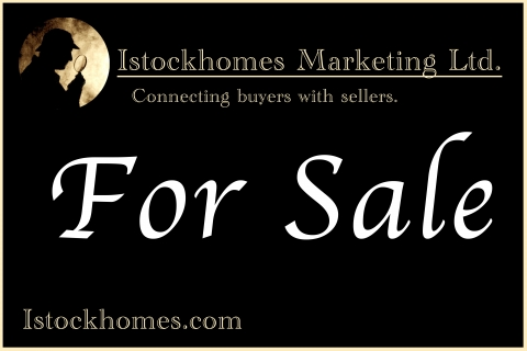 "Istockhomes Sign ""for sale"""