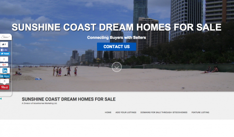 SUNSHINE COAST DREAM HOMES FOR SALE