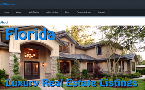 Florida Luxury Real Estate Listings
