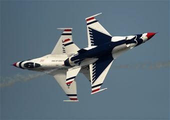 Nellis Air Force Base home of the Thunderbirds